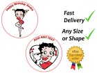 Personalised Betty Boop cake topper edible icing or Wafer £2.99 GBP on eBay
