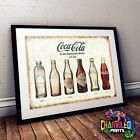 Coca Cola Poster A3 A4 Retro Bar Signs Cafe Signs £3.99  on eBay