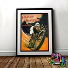 Harley Davidson Racing Poster A3 A4 Good Year Tyres Vintage Poster €9.28 EUR on eBay