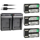 Kastar Battery Dual USB Charger for Samsung SB-LSM80 & Samsung SC-D372 Camcorder