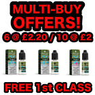 DIAMOND MIST E LIQUID Vape Juice 0mg 3mg 6mg 12mg 18mg + Nic Salt MULTIBUY OFFER