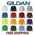 Gildan Heavy Cotton Men's Long Sleeve T Shirt Blank Plain Tee Basic 5400 S-3XL image