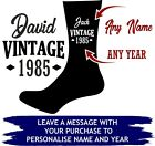 RUDE Middle Finger Birthday Socks 18th 21st 30th 40th 50th 60th 70th 80th Gift