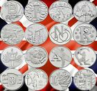 CHEAPEST 2018 10p COINS UNCIRCULATED ALPHABET A-Z TEN PENCE ANGEL BOND JUBILEE