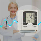 Automatic Wrist Blood Pressure/Pulse Rate Monitor Memory Readings Digital LCD