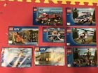 Lego ciry Instructions Lot 60123 7942 60108 Etc