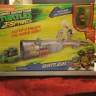 NICKELODEON TEENAGE MUTANT NIJA TURTLES T SPRINTS SEWER DUAL PLAYSET