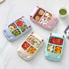 Car Shape Bamboo Fiber Kids Baby Divided Plate Dinner Food Tray Dish Tableware