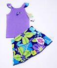 NWT Girls Outfit  Skirt Skort Short Leggings Set Carters NEW 3m 6m 9m 18m outfit