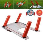 US Sports Golf Speed Trap Base Alignment 4 Rods Swing Hitting Practice Tool