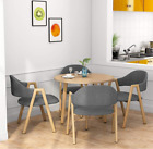Globular Modern Style Kitchen Dining Table set 1pcs Table with 4 Sets Chairs Home
