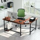 Tribesigns Modern L-Shaped Desk Corner Computer Desk PC Latop Study Table Home
