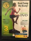 Gold's Gym Boot Camp: My Booty! DVD NEW Sealed 2010 - 3 Complete Workouts