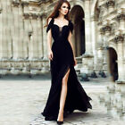 Sexy Womens Wedding Cocktail Formal Prom Evening Party Long Maxi Dress Ball Gown