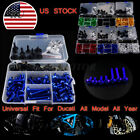 Spike Fairing Bolt Kit Set Nuts Screws Motorcycle For Ducati 959 Panigale 2016