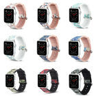38/40mm 42/44mm Silicone Bracelet Band Strap For Apple Watch Sports 1 2 3 4