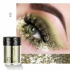 12 Colors Sequins Glitter Shimmer Starry Pigment Eyeshadow Powder Beauty Makeup