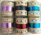 Indian Bangles Box 144 piece Bollywood style churi mix set bridal kangan kara