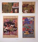 VTG Print Lot 4X Ancient Persian Book Art Repro ** SEE VARIETY
