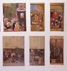 VTG Print Lot 6X Ancient Persian Book Art Repro  *  * SEE VARIETY