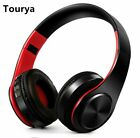 Tourya B7 Wireless Headphone Bluetooth Headset Earphone Earbuds For PC Cellphone
