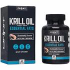"""SALE Onnit Krill Oil - 1000mg Extra Strength Antarctic With Omega 3 DHA """" EPA,"""
