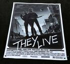 They live movie vinyl quality banner poster figure sunglasses consume sign