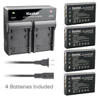 Kastar Battery Rapid Charger for CONTAX BP-1500S Tvs Digital & KYOCERA BP-1500S