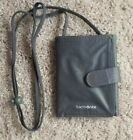 Samsonite Travel Wallet Over The Neck Under Over Shirt Water Resistant Char Gray