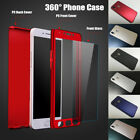 360° Hard Phone Case for Huawei P Smart 2019 Y7 Pro 2019 Y9 2019 Y6 2018+ Glass