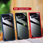 For Samsung Galaxy S10 Plus S10E Ultra Thin Clear Back Hybrid Protect Case Cover