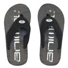 Animal NEW Jekyl Logo Boys Flip Flops - Cast Iron Grey BNWT