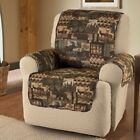 Slipcover Recliner Sofa Love Seat Cover Lodge Print Pet Protectors for Furniture