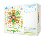 Babyganics Fragrance-Free Baby Wipes, Packaging May Vary