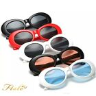 Retro Clout Goggles Cool Rapper Glasses Sunglasses Oval Shades Indie Fancy Wear