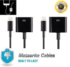 2x NEW 8p to 30pin Charge Sync Cable Adapter Converter Cord for Phone 6 7 8 X B