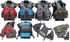 Fly Fishing Backpack Adjustable Size Mesh Fishing Vest Pack Floating Vest 4Color