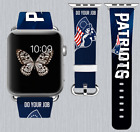 New England Patriots Apple Watch Band 38 40 42 44 mm IWatch PU Leather Strap 254 $24.99 USD on eBay