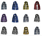 NFL Plaid Blanket Scarf Wrap by Little Earth on eBay