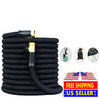 2019 Expandable Garden Water Hose 50ft,75ft & 100ft w/ FREE 8 way Spray Nozzle