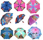 Little Girls Boys Cartoon Rain Sun Umbrella Kids Children Cute Toddler Gift Toy