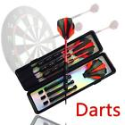 Soft Tip Darts Set With Case Green Aluminum Shaft Flight 3 Packs