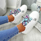 WOMENS LADIES RIBBON PLIMSOLLS GLITTER SPARKLE STUDS TRAINERS SNEAKERS SHOES