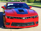 Vinyl Graphic Racing Wide Hood Rally OE Stripes Decals Pro 3M 2014 Camaro SS RS
