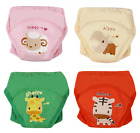 4Pack Baby Girls Traning Pants Underwear Toddler Cotton Potty Cloth Diaper Sheep