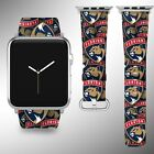 Florida Panthers Apple Watch Band 38 40 42 44 mm Series 1 2 3 4 Wrist Strap 1 $32.99 USD on eBay