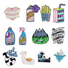 New Lovely Cute Cartoon Enamel Lapel Collar Pin Corsage Brooch Fashion Jewelry- image