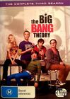 BIG BANGTHEORY 3 DVD SET THIRD SEASON FREE POST WITHIN AUSTRALIA