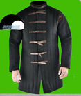STANDARD BLACK COLOUR COTTON GAMBESON FABRIC COVERED BUTTIONS