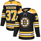Patrice Bergeron Boston Bruins Adidas NHL Home Authentic Hockey Jersey